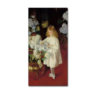 John Singer Sargent 'Helen Sears' Canvas Art