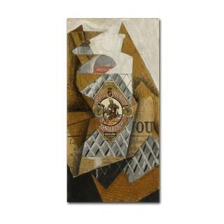 Juan Gris 'The Bottle Of Anjos Del Mono' Canvas Art
