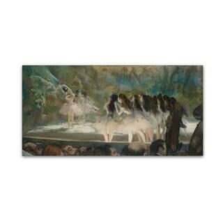 Degas 'Ballet At The Paris Opera' Canvas Art