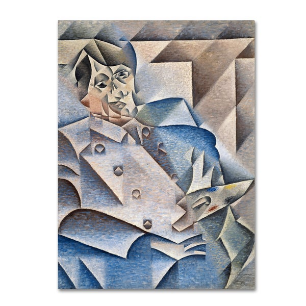Juan Gris 'Portrait Of Pablo Picasso' Canvas Art