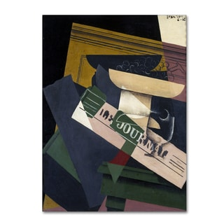 Juan Gris 'Grapes' Canvas Art