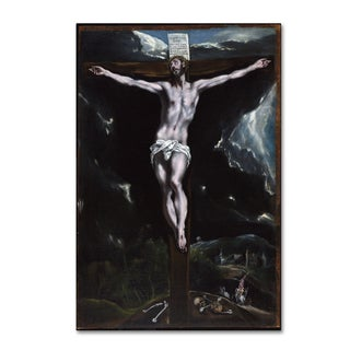 El Greco 'Christ On The Cross' Canvas Art