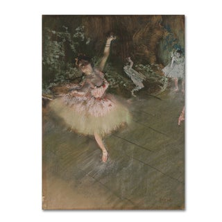 Degas 'The Star' Canvas Art