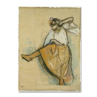 Degas 'The Russian Dancer' Canvas Art