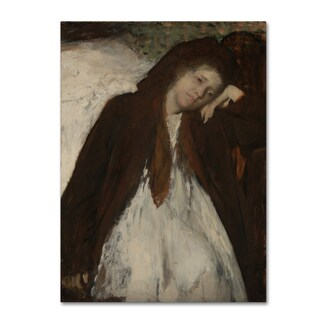 Degas 'The Convalescent' Canvas Art