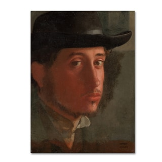 Degas 'Selfportrait' Canvas Art