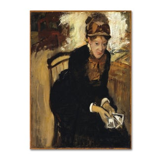 Degas 'Mary' Canvas Art