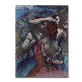 Degas 'Dancers 2' Canvas Art