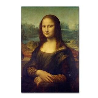 Da Vinci 'Mona Lisa' Canvas Art