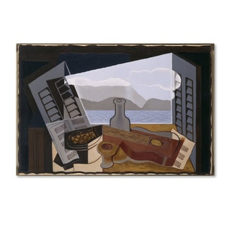Juan Gris 'The Open Window' Canvas Art