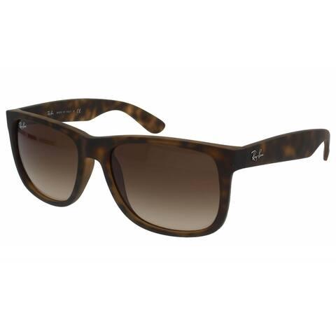 Ray-Ban Justin RB4165 Men's Tortoise Frame Brown Gradient 55mm Lens Sunglasses