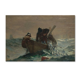 Homer 'The Herring Net' Canvas Art