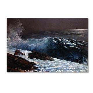 Homer 'Sunlight On The Coast' Canvas Art
