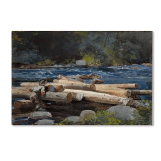 Homer 'Hudson River' Canvas Art