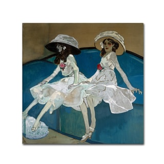 Gose 'The Two Sisters' Canvas Art