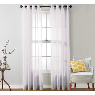 Sheer Curtains For Less Overstock Com