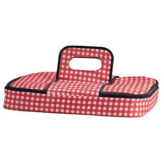 Check Insulated Casserole Tote