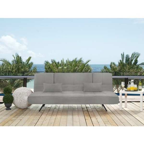 Serta Capri Pool And Deck Convertible Sofa By Lifestyle Solutions