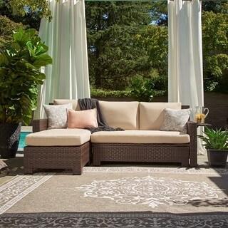 Waikiki Tan Pool and Deck Convertible Sofa