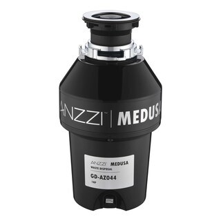 ANZZI Medusa Series 1 HP Continuous Feed Garbage Disposal