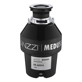 ANZZI Medusa Series 3/4 HP Continuous Feed Garbage Disposal