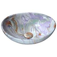Anzzi Sona Series Marbled Adobe Ceramic Vessel Sink