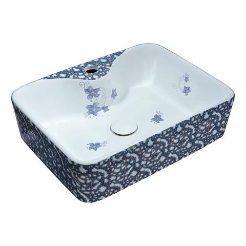 ANZZI Cotta Series Ceramic Vessel Sink in Lavender