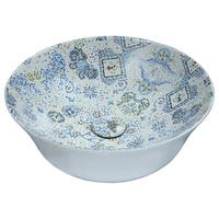 ANZZI Byzantian Series Ceramic Vessel Sink in Mosaic White