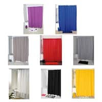 Evideco Bathroom Shower Curtain Eva Solid Color