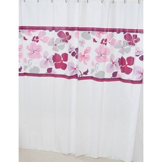 Evideco Bathroom Printed Shower Curtain Softies Peva