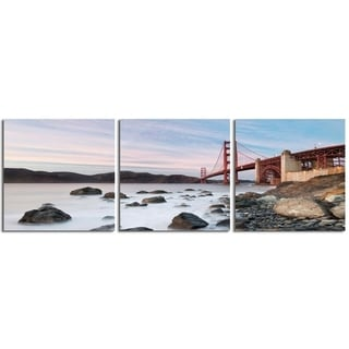 "Elementem Photography: ""Breaking Daylight"" Photography Print 3-Panel Panoramic Wall Art"