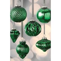 Assorted Mercury Ball Ornaments