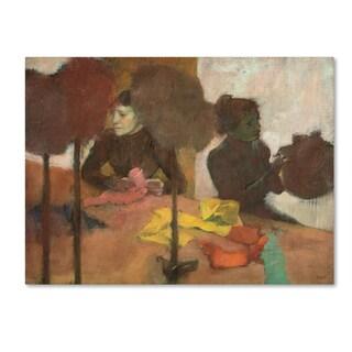 Degas 'The Milliners' Canvas Art