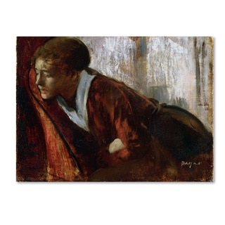 Degas 'Melancholy' Canvas Art