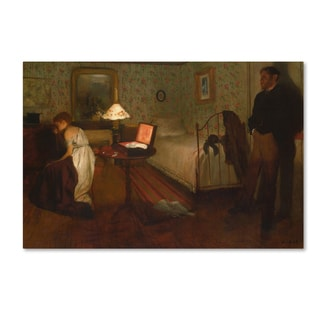 Degas 'Interior' Canvas Art
