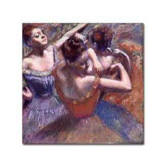 Degas 'Dancers' Canvas Art