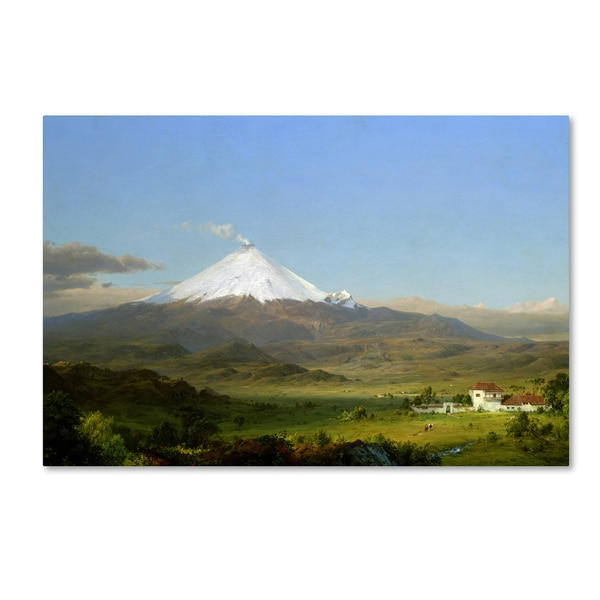Church 'Cotopaxi' Canvas Art