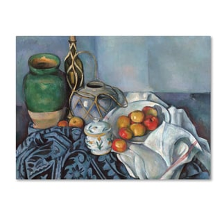 Cezanne 'Still Life With Apples 2' Canvas Art