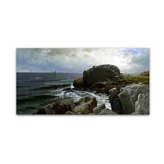Bricher 'Castle Rock Marblehead' Canvas Art