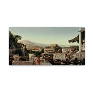 Ahlborn 'View Of The Flower Of Greece' Canvas Art