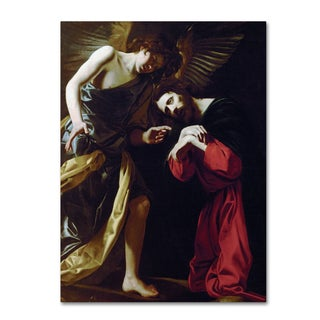 Badalocchio 'Christ On The Mount Of Olives' Canvas Art