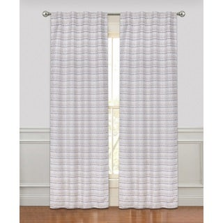 Rodeo Luxury Rod Pocket Curtain Panel Pair - N/A