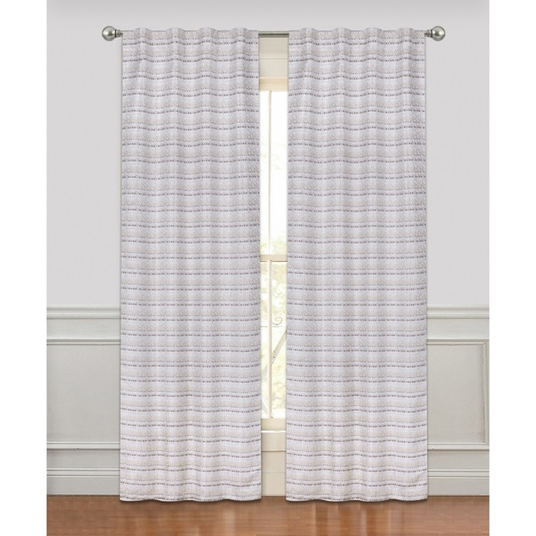 Rodeo Luxury Rod Pocket Curtain Panel Pair