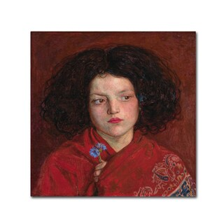 Brown 'The Irish Girl' Canvas Art