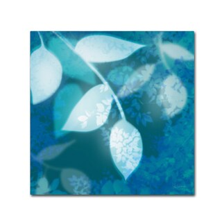 Sue Schlabach 'Ink Leaves I' Canvas Art
