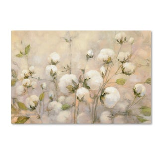 Julia Purinton 'Cotton Field' Canvas Art