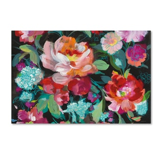 Danhui Nai 'Bright Floral Medley Crop' Canvas Art