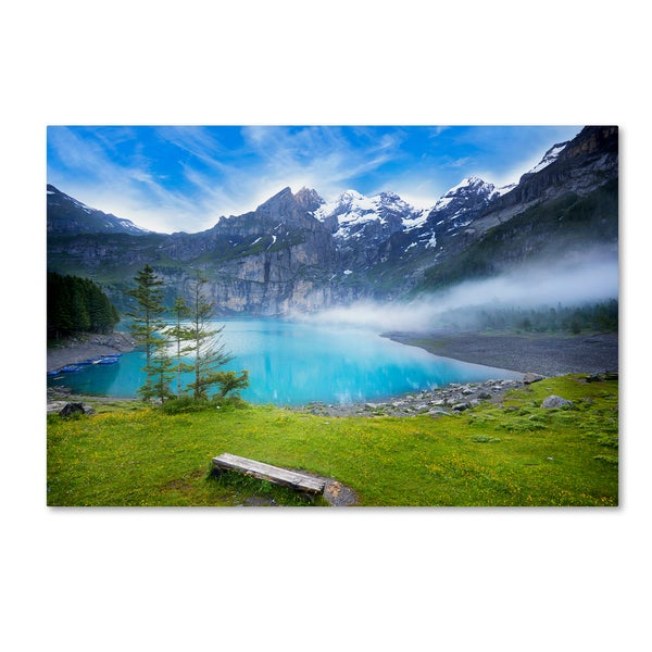Philippe Sainte-Laudy 'Beautiful Switzerland' Canvas Art