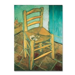 Vincent van Gogh 'Vincent's Chair' Canvas Art