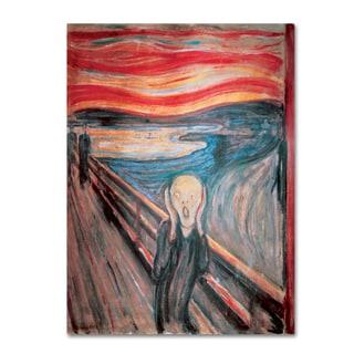 Edvard Munch 'The Scream' Canvas Art